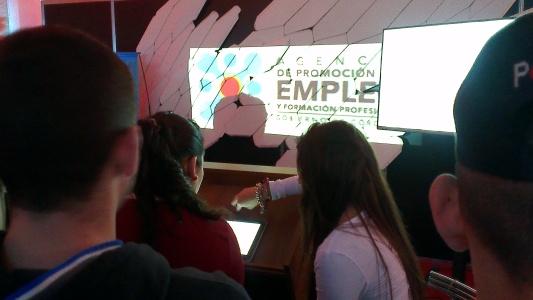Pabellón Interactivo - Expo Trabajar y Estudiar